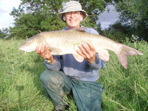 Charlyfarly2 with a barbel