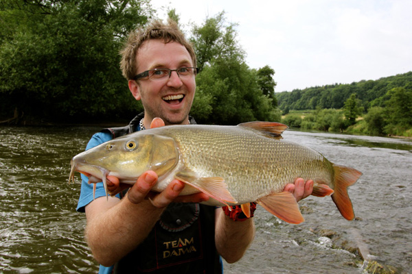 A River Wye Barbel