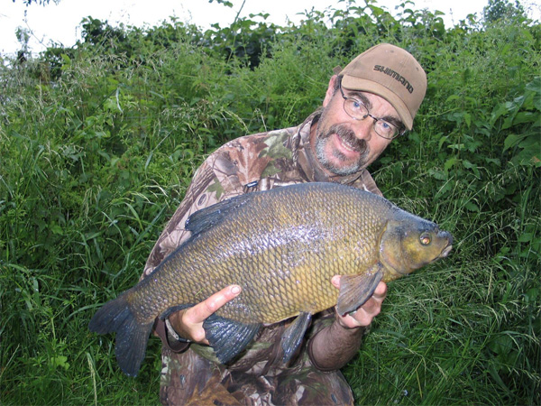 Jan Porter with a Bream