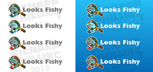 looks fishy logo version 2